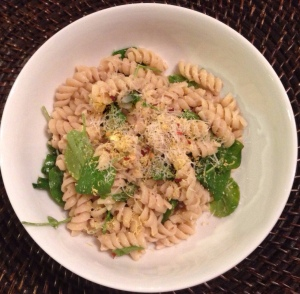 Lemony Pasta with Tuna Sauce